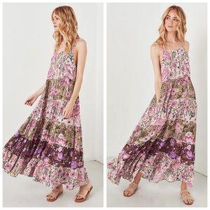 spell designs | desert daisy maxi dress in lilac